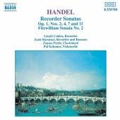 Recorder Sonatas by George Frideric Handel