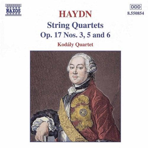 String Quartets Op. 17 Nos. 3, 5, and 6 by Franz Joseph Haydn