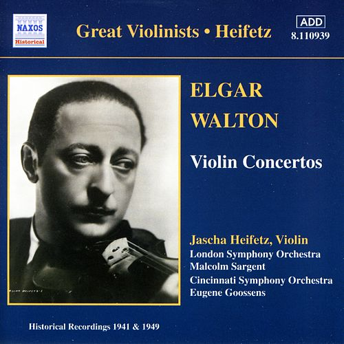 Heifetz -  Violin Concertos by Various Artists