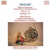 Horn Concertos Nos. 1-4 by Wolfgang Amadeus Mozart