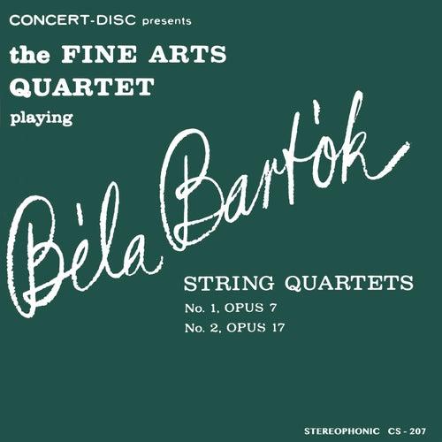 Bartók: String Quartets No. 1 & No. 2 (Digitally Remastered from the Original Concert-Disc Master Tapes) by Fine Arts Quartet