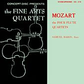Mozart: The Four Flute Quartets (Digitally Remastered from the Original Concert-Disc Master Tapes) by Members of the Fine Arts Quartet