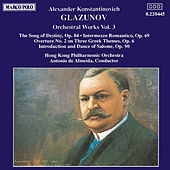 Orchestral Works Vol. 3 by Alexander Glazunov