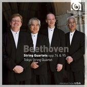 Beethoven: String Quartets Opp.74 & 95 by Tokyo String Quartet