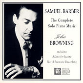 Samuel Barber: The Complete Piano Music von John Browning