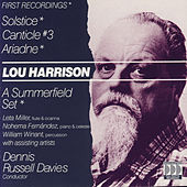 Harrison: Solstice/Canticle #3 by Various Artists