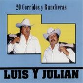 20 Corridos y Rancherras by Luis Y Julian