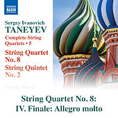 String Quartet No. 8 in C Major: IV. Finale. Allegro molto by Carpe Diem String Quartet