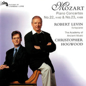 Mozart: Piano Concertos Nos. 22 & 23 von Christopher Hogwood