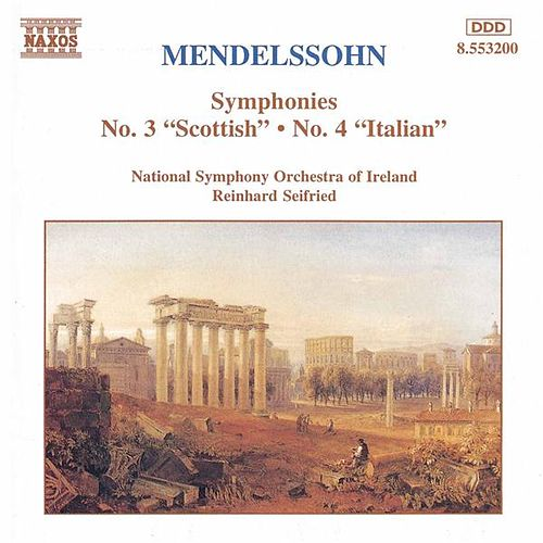 Symphonies Nos. 3 and 4 by Felix Mendelssohn