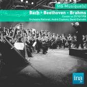 Bach - Beethoven - Brahms, Concert du 19/07/1959, Orchestre National de la RTF, André Cluytens (dir), David Oistrakh (violon) by Orchestre national de la RTF and André Cluytens