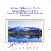 Johann Sebastian Bach: Brandenburgisches Konzert Nr. 1 & Nr. 3 - Konzert für Flöte, Cemb by Various Artists