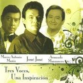 Tres Voces, Una Inspiración by Various Artists