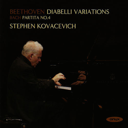 Beethoven: Diabelli Variations - Bach: Partita No.4 by Stephen Kovacevich
