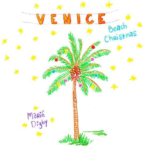 Venice Beach Christmas by Marie Digby