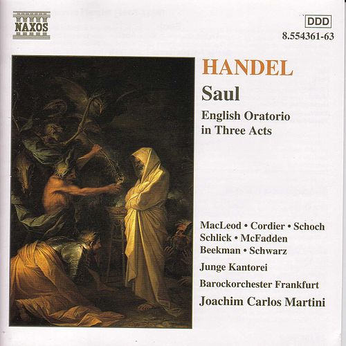 Saul by George Frideric Handel