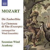 MOZART: Magic Flute (The) / La Clemenza di Tito (arr. for wind ensemble) by Saxonian Woodwind Academy