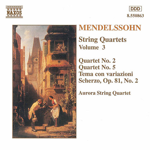 String Quartets Vol. 3 by Felix Mendelssohn