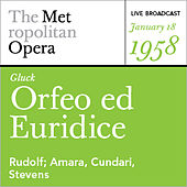 Gluck: Orfeo ed Euridice (January 18, 1958) by Various Artists