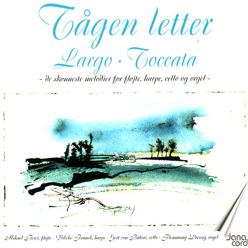 Tågen Letter. The most beautiful music for flute, harp. cello and organ by Mikael Beier