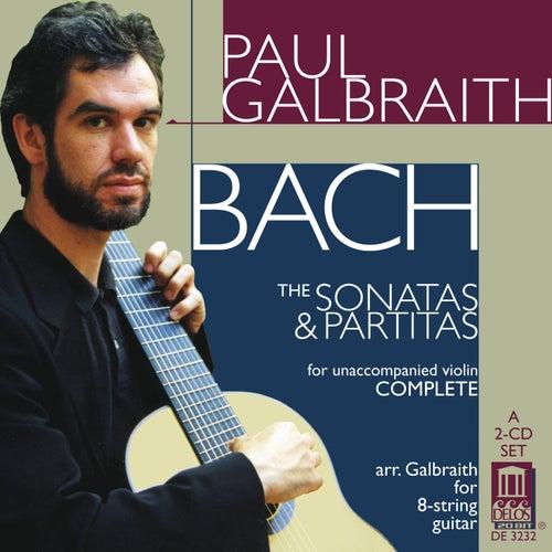 BACH, J.S.: Sonatas and Partitas (arr. for guitar) (Galbraith) by Paul Galbraith