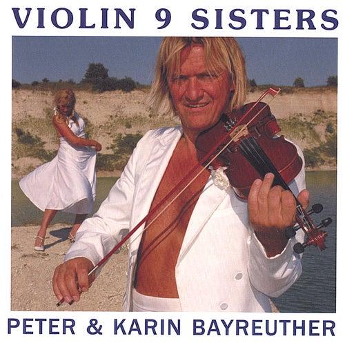 Violin 9 Sisters by Peter