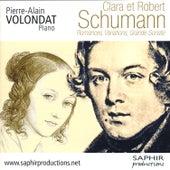 Clara et Robert Schumann, Romances, Variations, Grande sonate by Pierre-Alain Volondat