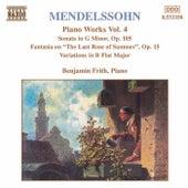 Piano Works Vol. 4 by Felix Mendelssohn