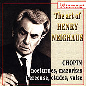 The art of Henry Neighaus, vol III. Chopin Works for piano by Frederic Chopin