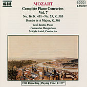 Complete Piano Concertos Vol. 7 by Wolfgang Amadeus Mozart