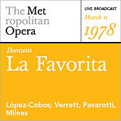 Donizetti: La Favorita (March 11, 1978) by Various Artists