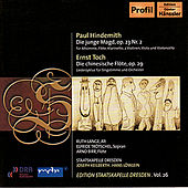 HINDEMITH, P.: Die Junge Magd / TOCH, E.: Die chinesische Flote (Trotschel, Lange) by Various Artists