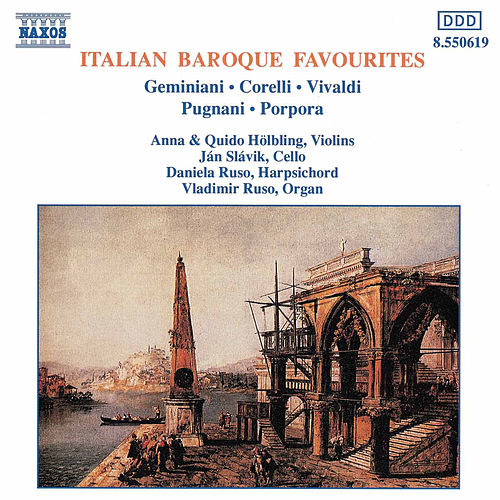 Italian Baroque Favourites by Various Artists