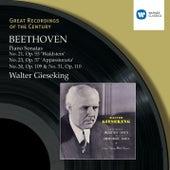 Beethoven: Piano Sonatas 21,23,30,31 by Walter Gieseking