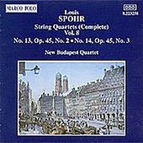 String Quartets Nos. 13 and 14 by Louis Spohr