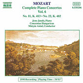 Piano Concertos Nos. 11 and 22 by Wolfgang Amadeus Mozart