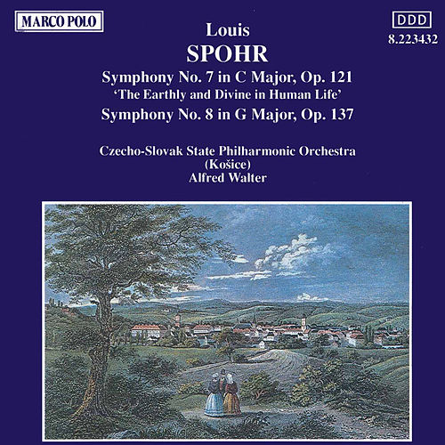 Symphonies Nos. 7 and 8 by Louis Spohr