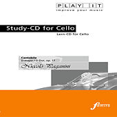 PLAY IT - Study-CD for Cello: Niccolò Paganini, Cantabile, D major / D-Dur, op. 17 by Various Artists