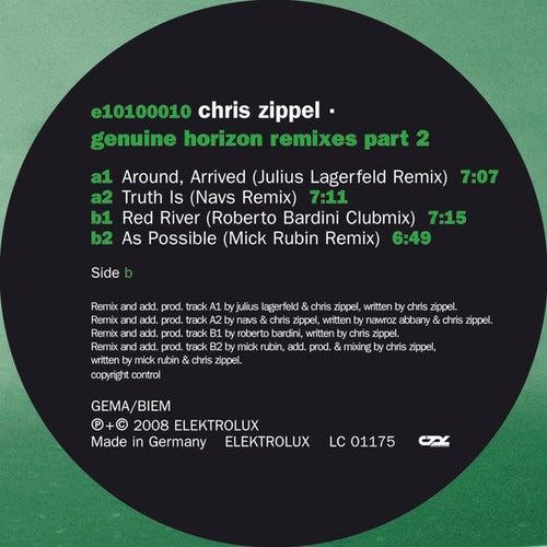 Genuine Horizon Remixes Part 2 by Chris Zippel