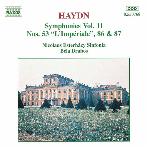 Symphonies 53, 86 & 87 by Franz Joseph Haydn