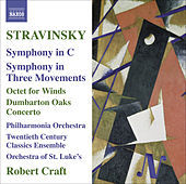 STRAVINSKY, I.: Symphony in C / Symphony in 3 Movements / Octet / Dumbarton Oaks (Craft) (Stravinsky, Vol. 10) by Robert Craft