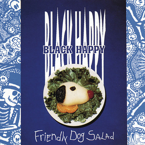 Friendly Dog Salad by Black Happy