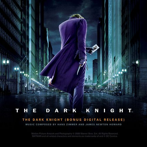 The Dark Knight Bonus Digital Release by Hans Zimmer