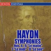Haydn: Symphonies Nos. 4 - 6