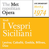 Verdi: I Vespri Siciliani (March 9, 1974) by Various Artists