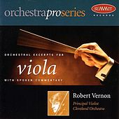 Orchestral Excerpts for Viola by Robert Vernon