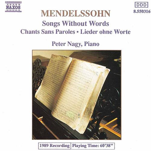 Songs Without Words by Felix Mendelssohn