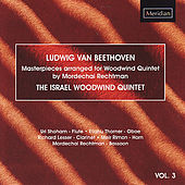 Beethoven: Masterpieces Arranged for Woodwind Quintet by The Israel Woodwind Quintet