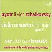 Tchaikovsky: Violin Concerto in D Major, Op. 35 by Mischa Elman