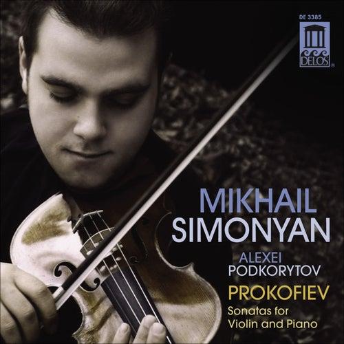 PROKOFIEV: Violin Sonatas, Simonyan & Podkorytov by Alexei Podkorytov